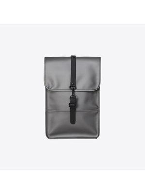 Rains Backpack Mini Metallic Charcoal Rugzak