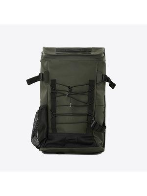 Rains Mountaineer Bag Green Backpack