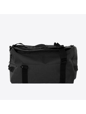 Rains Duffel Backpack Black Rugzak