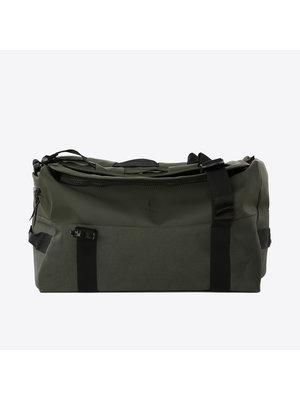 Rains Duffel Backpack Green Rugzak
