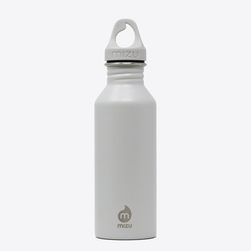 Mizu M5 Drinking Bottle Light Grey 500ml