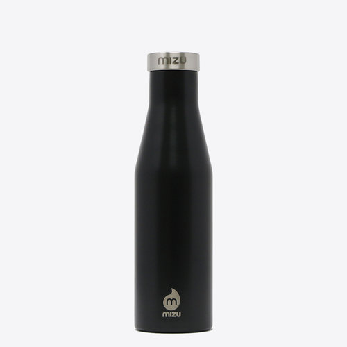 Mizu S4 Thermos Flask Black 400ml