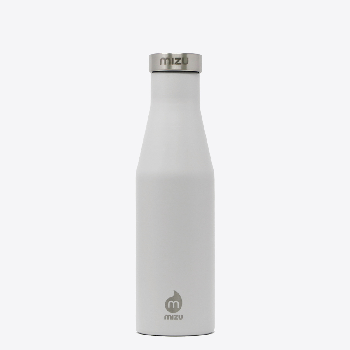 S4 Insulated Drinking Bottle and Thermos Flask Light Grey 400ml