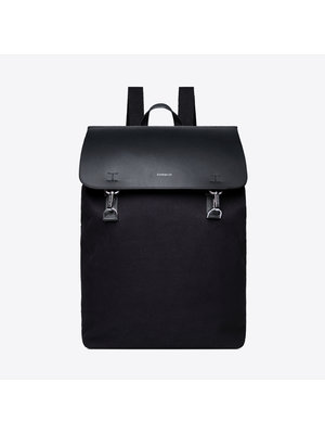 Sandqvist Hege Metal Hook Black Backpack