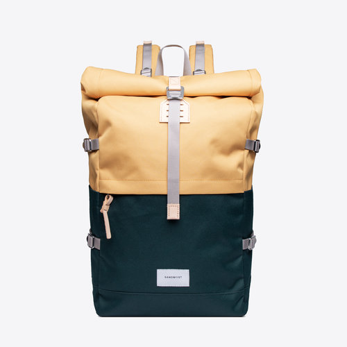 Sandqvist Bernt Backpack Yellow Green