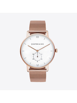 Kapten and Son Heritage Mesh Horloge