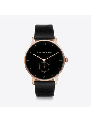 Kapten and Son Heritage All Black Watch