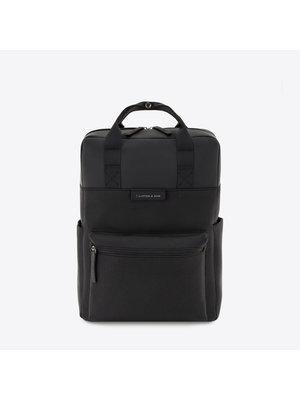 Kapten and Son Bergen All Black Backpack