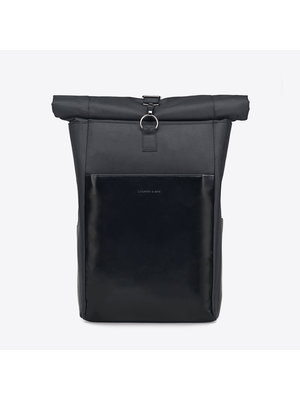 Kapten and Son Lund All Black Backpack