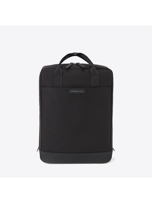 Kapten and Son Malmo All Black Backpack
