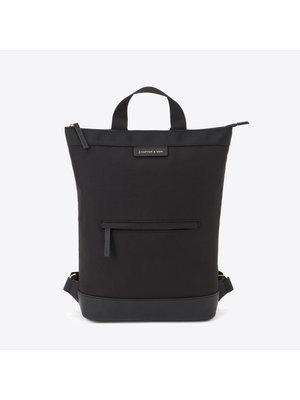 Kapten and Son Umea All Black Backpack