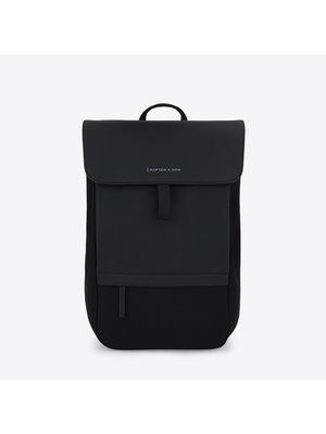 Kapten and Son Fyn All Black Backpack