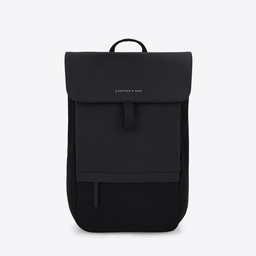 Kapten and Son Fyn Backpack All Black