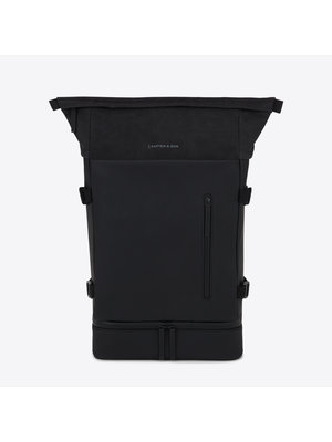 Kapten and Son Helsinki All Black Backpack