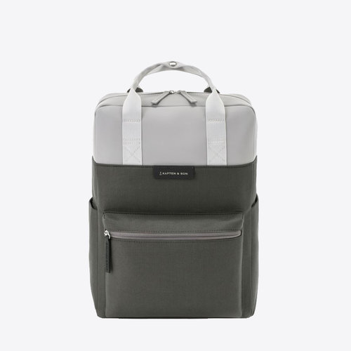Kapten and Son Bergen Rugzak Grey Black
