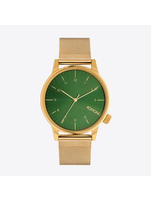 Komono Winston Royale Gold Green Watch