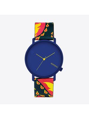 Komono Lewis 10 Year Paisley Horloge