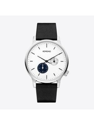 Komono Winston Double Subs Blue Horloge