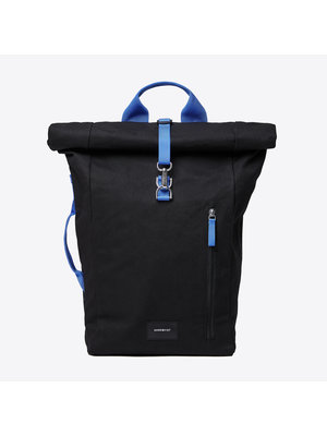 Sandqvist Dante Vegan Black Backpack