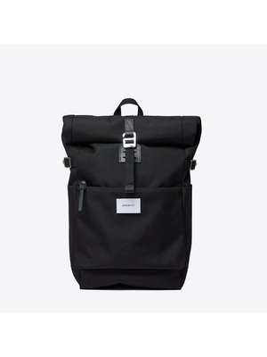 Sandqvist Ilon Black Backpack