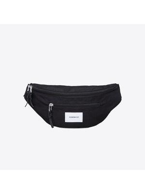 Sandqvist Aste Black Bum Bag