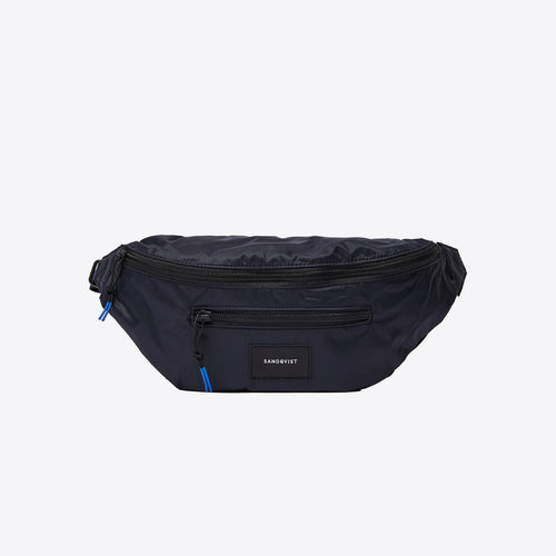 Sandqvist Aste Lightweight Bum Bag Black