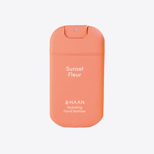 HAAN Spray désinfectant pour les mains Sunset Fleur