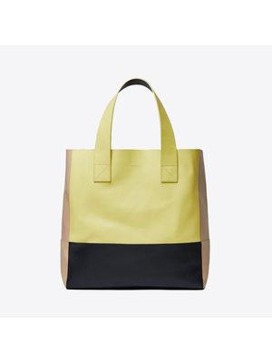 Sandqvist Iris Lemon Black Beige  Shoulder Bag