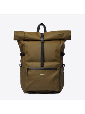Sandqvist Ruben Dark Olive Backpack
