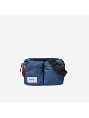 Sandqvist Paul Dusty Blue Bum Bag