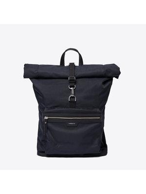 Sandqvist Siv Black Backpack