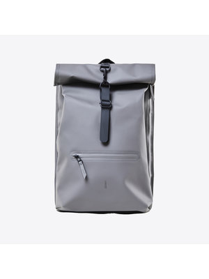 Rains Roll-top Rucksack Charcoal