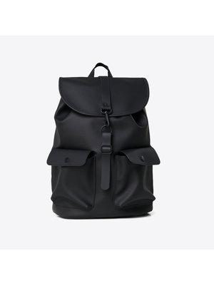 Rains Camp Backpack Black Rugzak