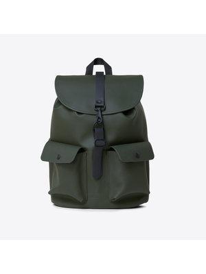 Rains Camp Backpack Green Rugzak