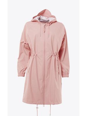 Rains Long W Jacket Coral Raincoat