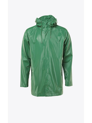Rains Short Coat Shiny Grass Raincoat