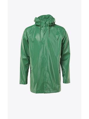 Rains Short Coat Shiny Grass Regenjas