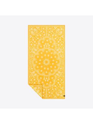 Slowtide Paisley Park Yellow Travel Towel