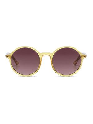 Komono Madison Yellow Sunglasses