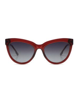 Komono Liz Burgundy Sunglasses