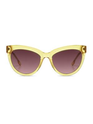 Komono Liz Yellow Sunglasses