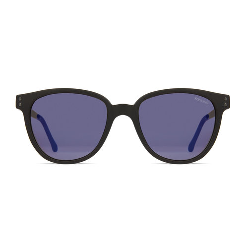 Komono Renee Black Silver Sunglasses