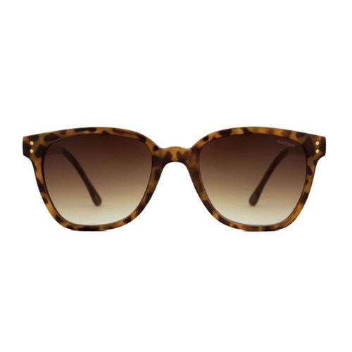 Komono Renee Metal Tortoise Rose Gold Sunglasses