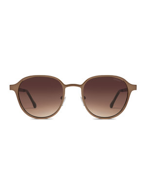 Komono Levi Pale Copper Sunglasses