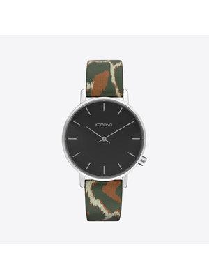 Komono Harlow Animal Green Horloge