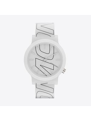 Komono Mono Tag Black Lines Horloge