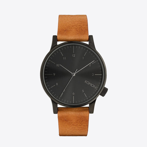 Komono Winston Regal Cognac Watch