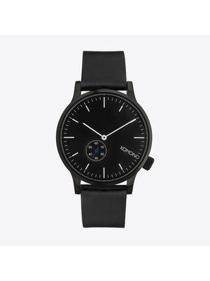Komono Winston Subs Black Horloge