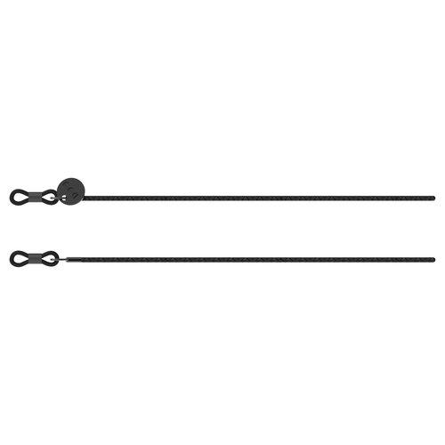 Komono Rider Black Sunglasses cord