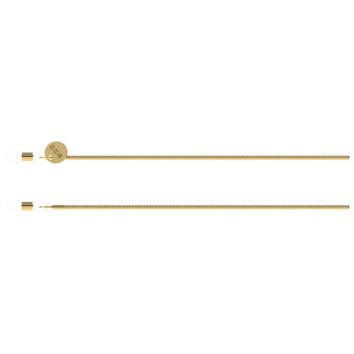 Komono Boa Gold Sunglasses cord